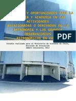 Oportunidades Astronomia en Chile Informe Final
