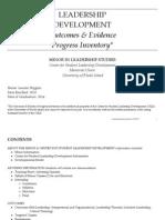 leadership inventory 2014
