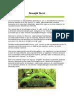 Ecologia Social