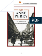 Perry Anne - La Medium de Southampton Row