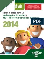 Cartilha MEI Imposto de Renda 2014