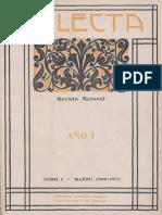 Selecta N 1, 1909