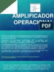 AMPLIFICADOR OPERACIONAL