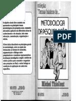 METODOLOGIA DA PESQUISAaçao livro 2011