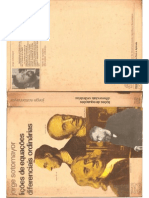 Lições de Equações Diferenciais Ordinárias - Jorge Sotomayor