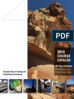Oil and Gas Training Course Catalog 2014