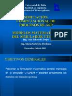 Seminario ASP-Modelo Matematico