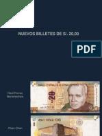 Seguridad Billetes 20