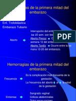 Hemorragias 1a mitad del embarazo.pptx