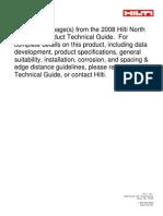 4.2.1 HVA Capsule Adhesive Anchoring(151-166)