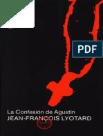 Lyotard-La confesión de San Agustin