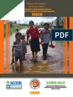 Manual de usuario. Sistema de Información para la Gestón de Emergencias Departamental SIGED