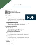 classroom management lesson plan