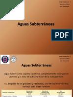 Aguas Subterraneas. Unidad Tematica 3