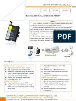 f2203 Cdma Ip Modem Technical Specification