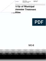 Start-Up of Municipal Wastewater Treatment