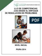 Desarrollo de competencias matematicas desde el enfoque de resolución de problemas