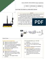 f3a24 Lte&Evdo Wifi Router Specification