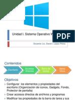 Sistema Operativo w7 Informatica I (p1 Domingos)