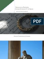 Voces en el Panteón. Historias y Personajes del Cementerio Nº 1 de Valparaíso (Presentación del libro)
