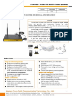 f7434s Gps+Wcdma Wifi Router Technical Specification