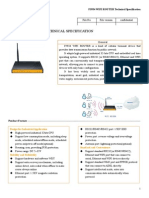 f5934 Wifi Router Specification