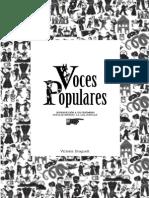 Voces populares. Introducción a un fenómeno popular impreso; ''La lira popular''. (2012)
