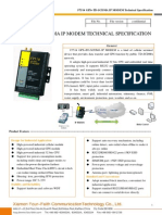 f7514 Gps+Td-scdma Ip Modem Technical Specification