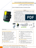 f7614 Gps+Evdo Ip Modem Technical Specification