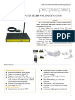 f7125 Gps+Gprs Router Specification