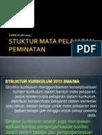 Program Peminatan Kur'13