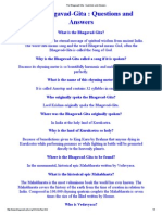 The Bhagavad-Gita _ Questions and Answers