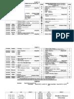 BISE Multan FA / F.Sc Date Sheet 2014