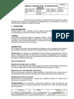 Limpieza y Desinfeccion Dm 2013