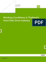 Working Conditions in Thailand2019s Hard Disk Drive Industry