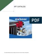 Oilon BURNERS Spare Part Catalogue