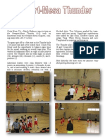 Thunder - YMCA Basketball Game 6 - Article
