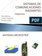 Antenas tipo MicroStrip