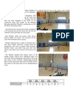 Newport Thunder Game Summary 2014 Winter Game 8