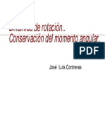 PPT Dinámica de Rotacion 2010
