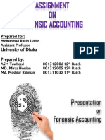 Presentation on Forensic Accounting