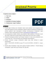 Standard Operational Procedure Peserta PTI 2011