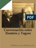 Conversación entre Einstein y Tagore