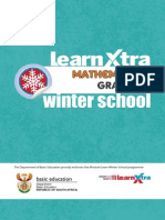 Learn Xtra Winter School Gr12 Maths P2 Learner Guide