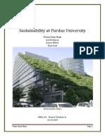 Sustainability at Purdue University