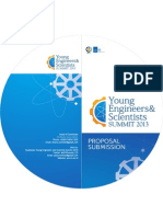 Proposal Young Engineers and Scientists Summit 2013
