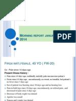 Morning report, Januari 21- 2014.ppt