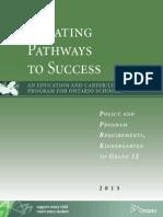 Creating Pathways Success