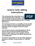 Carb Jetting Instructions