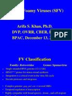Simian Foamy Viruses (SFV)
